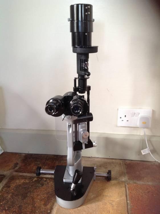 haag streit slit lamp used slit lamps ophthalmic equipment used. Black Bedroom Furniture Sets. Home Design Ideas