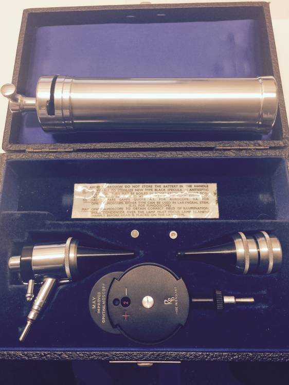 Antique Ophthalmoscope Otoscope Used Ophthalmoscopes