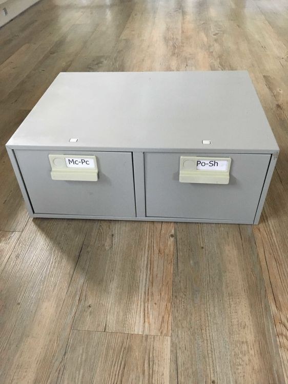 Record Card Filing Cabinet Office Furniture