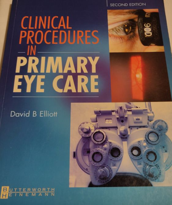 Clinical Procedures in Primary Eye Care Paperback | Used Books