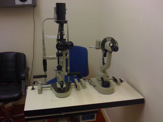 Bobes slit lamp table used slit lamps ophthalmic equipment bobes slit lamp table aloadofball Choice Image