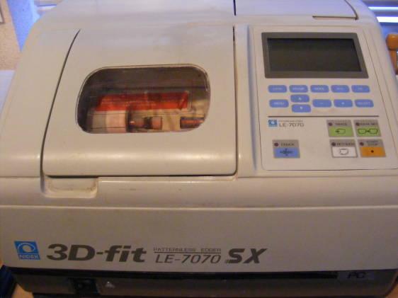 LE7070SX 3D Edger For Parts   Used Lens Edgers   Lab
