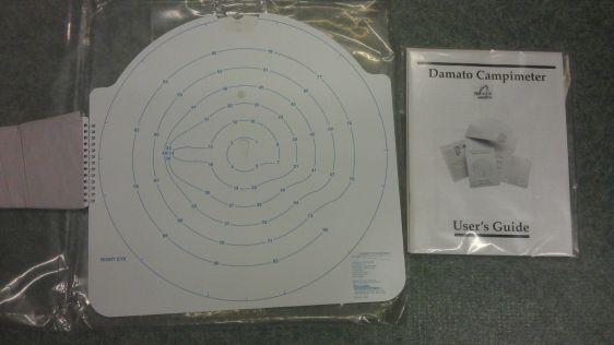 Damato Field Screener Used Visual Screeners Ophthalmic