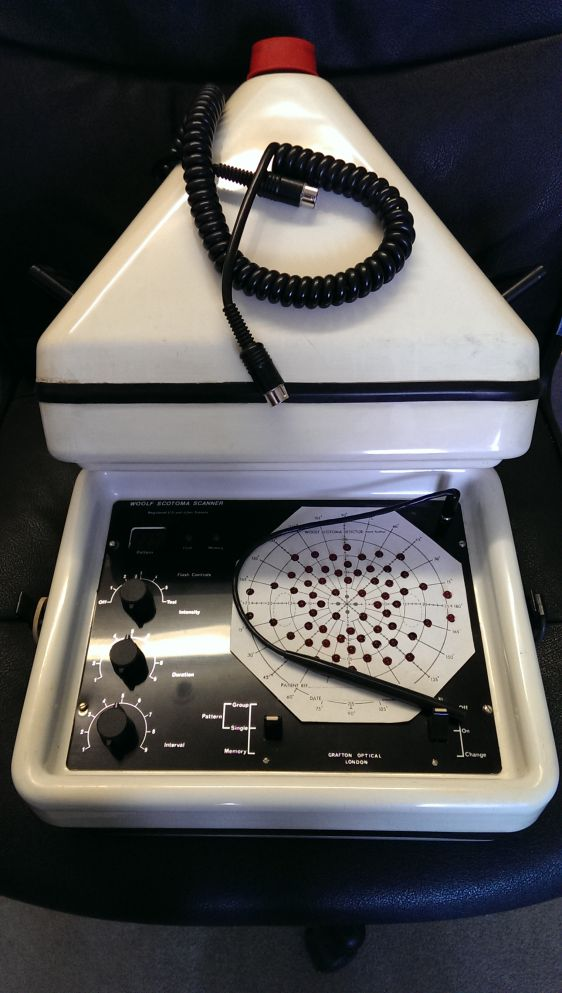 Woolf Scotoma Scanner Used Visual Screeners Ophthalmic