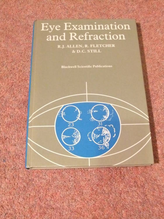 Eye Examination And Refraction Used Books Amp Posters