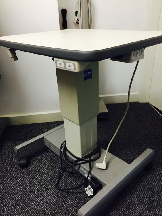 Zeiss Instrument Table Used Tables Ophthalmic