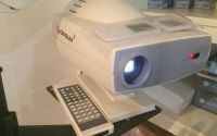 LED chart projector